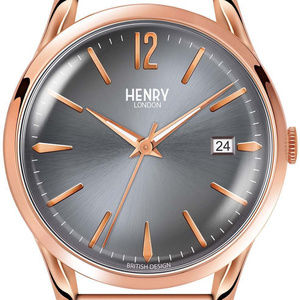 Henry London RETRO VIBES Rose Gold Watch designer